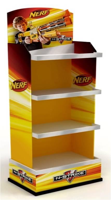 Внешний вид Дисплея Nerf